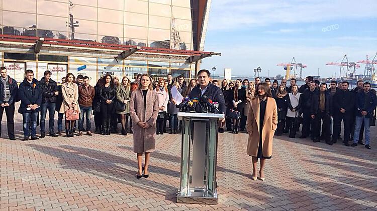Саакашвили принял решение подать вотставку