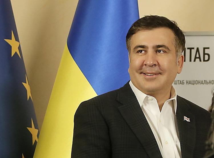 Саакашвили попросил помощи уодесситов всохранении культурного наследства