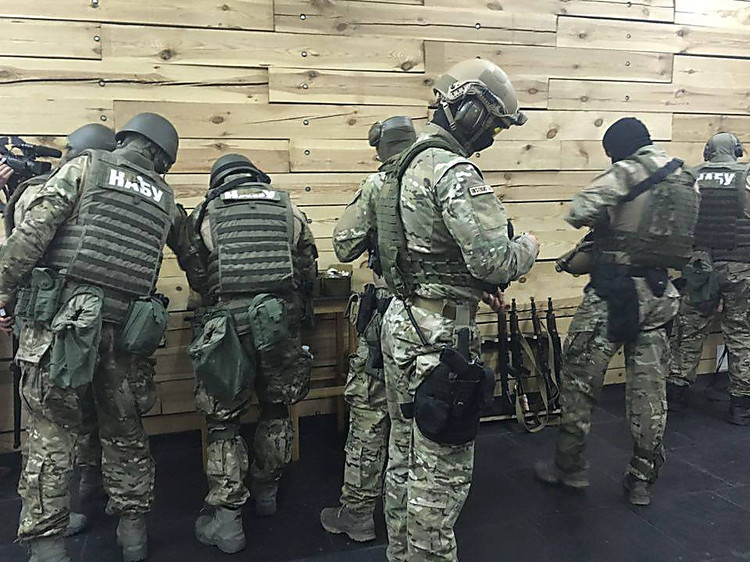 НАБУ: Обыск учлена Опоблоку продолжается поделу «черной бухгалтерии» ПР
