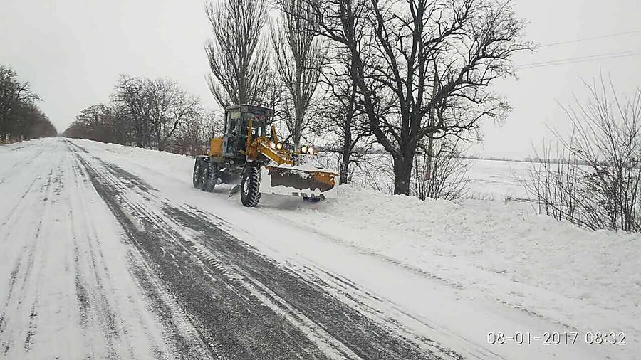 Вчетырех областях государства Украины ограничено движение транспорта