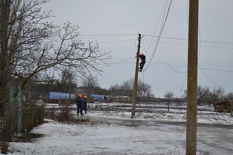 без электроснабжения