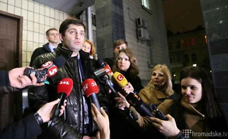 Президент пообещал помочь восстановлению Сакварелидзе надолжности вГПУ