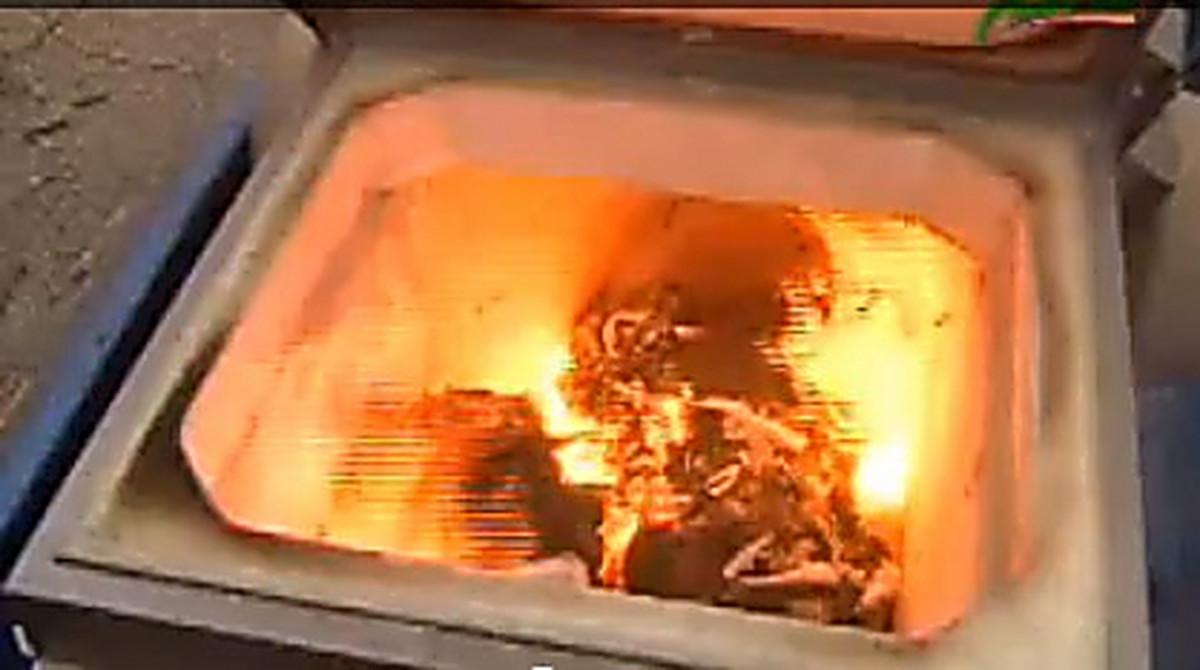Как сделать крематорий