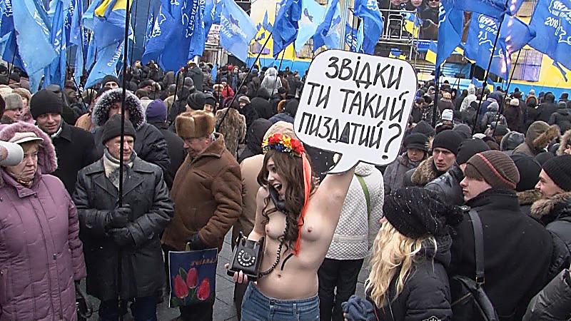 впрямь суки украины трахаются с правым сектором стала легко нежно