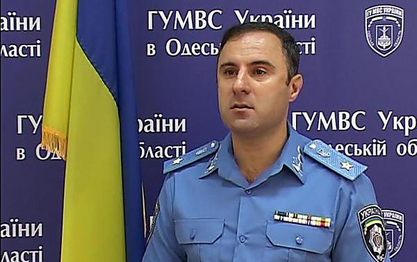 Грузинский суд постановил арестовать руководителя одесской милиции Гиорги Лорткипанидзе