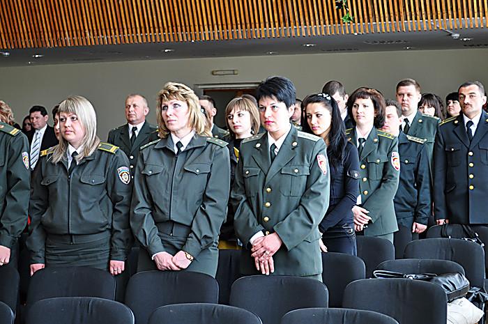 В среду, 27 марта, управление государственной пенитенциарной службы украины в николаевской области отпраздновало