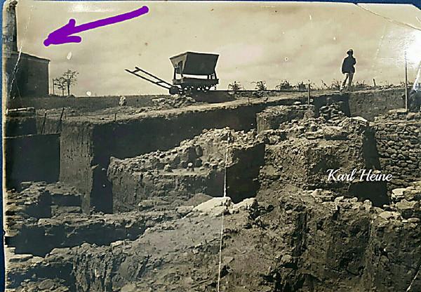 Николаевец выложил в Сеть снимки раскопок в Ольвии образца 1930-ых годов
