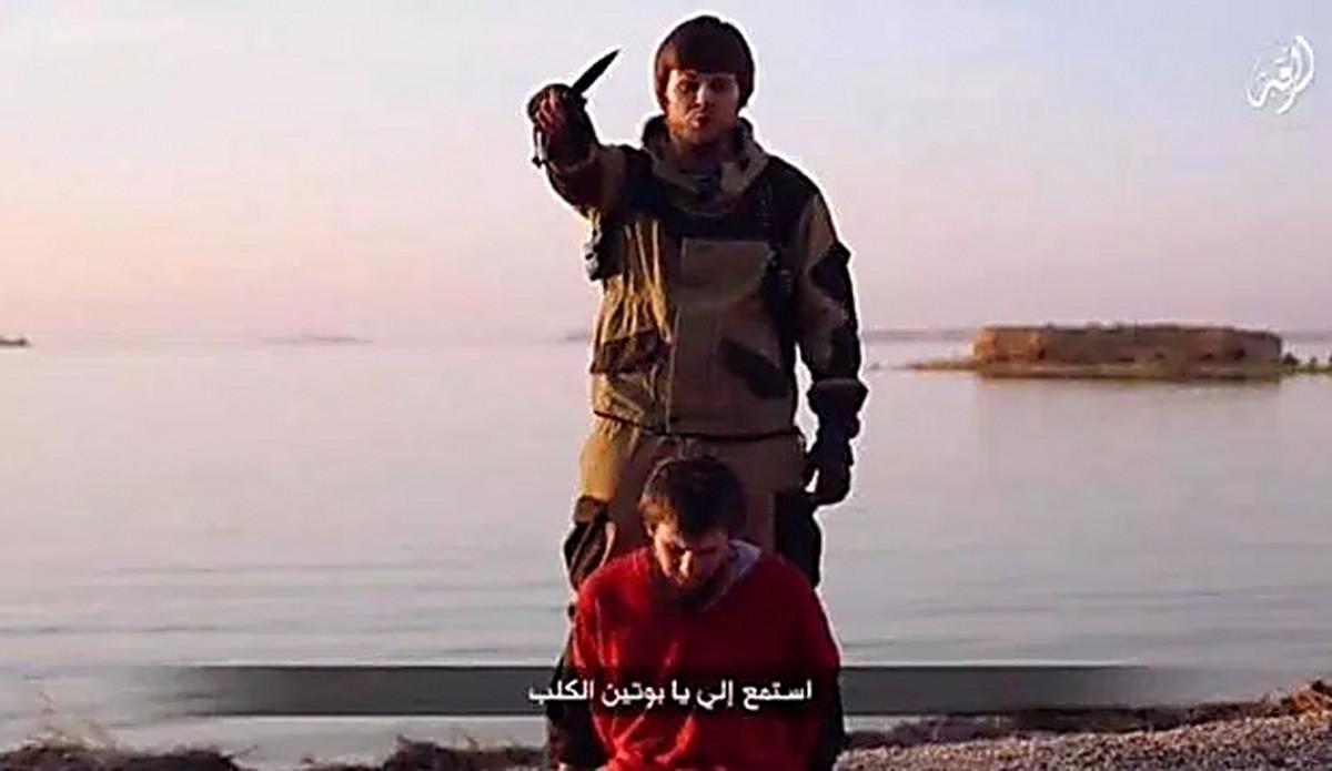 Боевики ИГИЛ казнили россиянина агента ФСБ видео