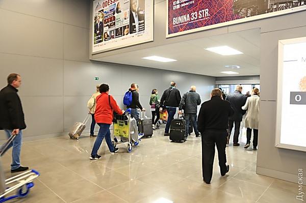 ВОдесском аэропорту заработал новый терминал