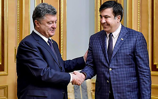 Порошенко сегодня отправит вотставку Саакашвили