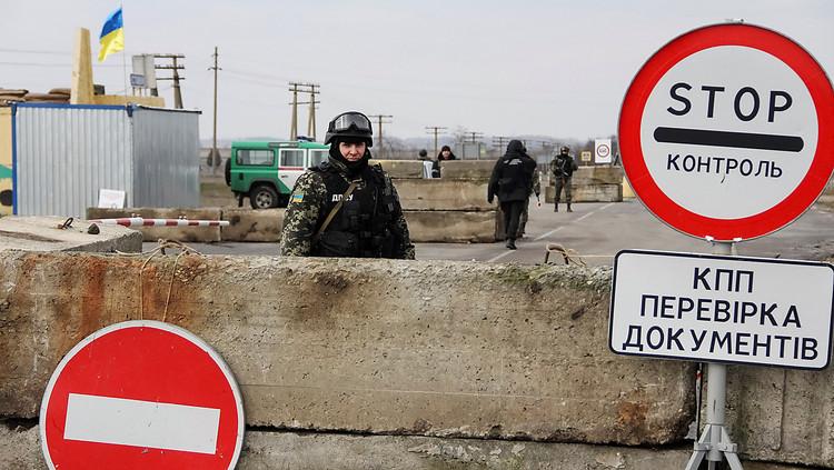 Госпогранслужба: Поток въезжающих вКрым засутки уменьшился практически начетверть