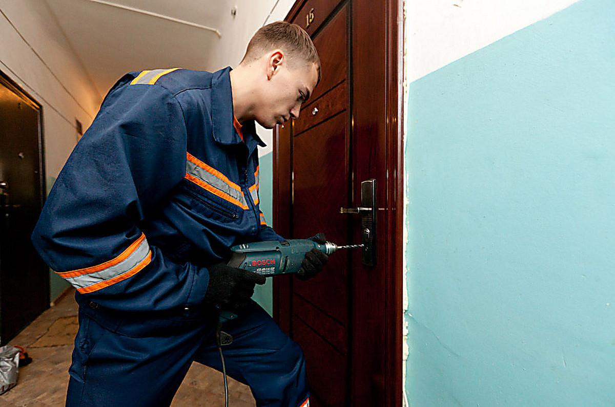 Пермь вскрыть дверь