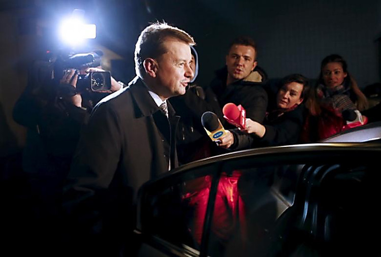 Руководитель МВД Польши обвинил оппозицию впопытке захватить власть вгосударстве