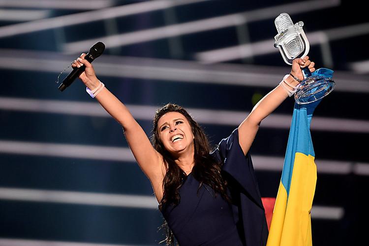 Джамала заработает 37 тыс. долларов на«Евровидении» в2015-м году