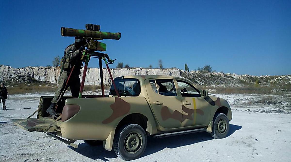 Sent to zone anti-terrorist operation to the Nikolaev