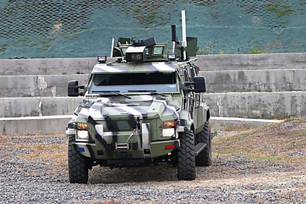 ВУкраинском государстве создали беспилотный броневик