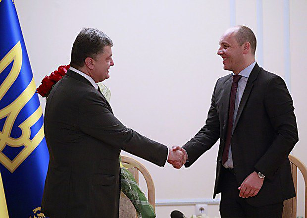 Image result for Andrey Parubiy and Poroshenko
