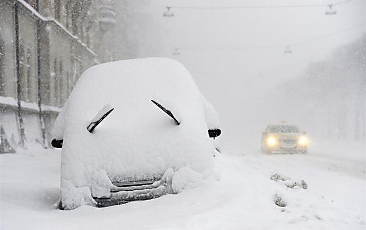 Фото, смешные картинки снегопад