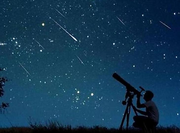 фото звездопад