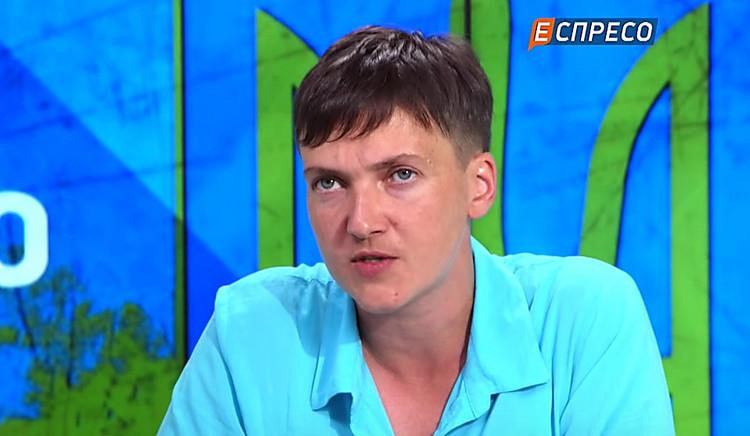 Савченко сообщила, что пора заканчивать АТО