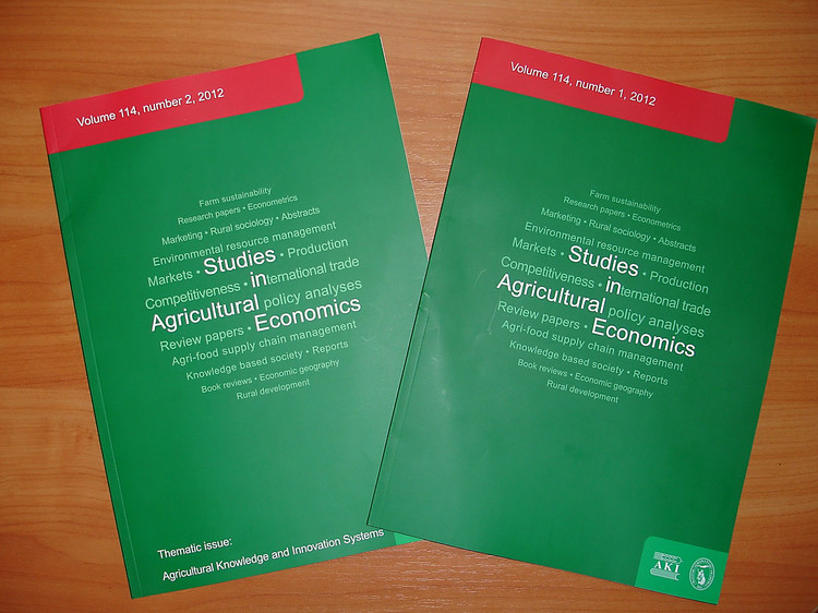 agricultural economics research papers Agricultural and food economics behalf of the italian association of agricultural economics afe welcomes research articles research papers in economics.