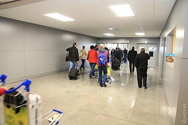 Ваэропорту Одесса прилет внутренних рейсов перевели вновый терминал