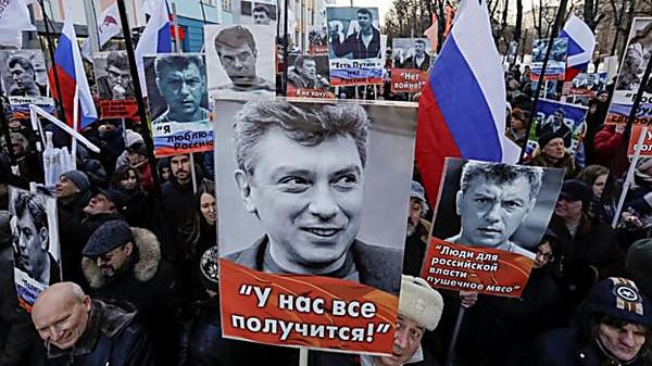 В РФ проходят акции памяти Бориса Немцова