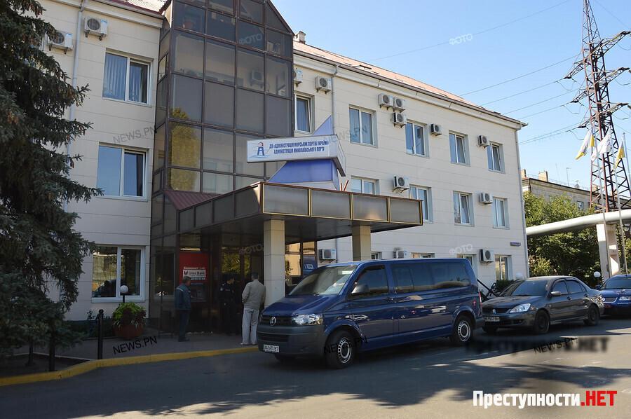 Силовики проводят обыски вофисах Николаевского морпорта