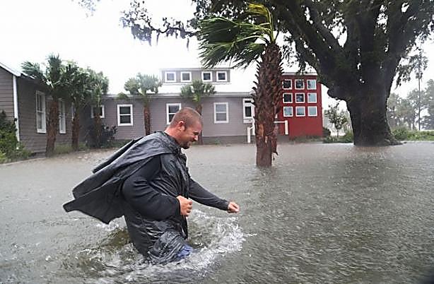 Около 5 тыс. рейсов отменены вСША из-за урагана «Мэтью»