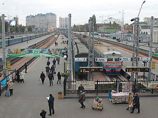 Мыколу изГаличины: Наодесском вокзале торжественно встретили соркестром двухмиллионного туриста