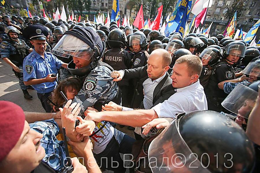 Яценюк инициирует создание следственно-оперативной группы для расследования столкновений под Радой - Цензор.НЕТ 9392