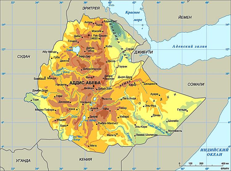 Поменьшей мере 50 человек погибли вЭфиопии вовремя протестов