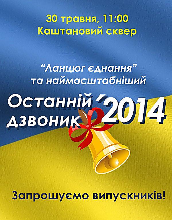 Сегодня николаевские выпускники создадут «живую цепь» воссоединения, фото-1