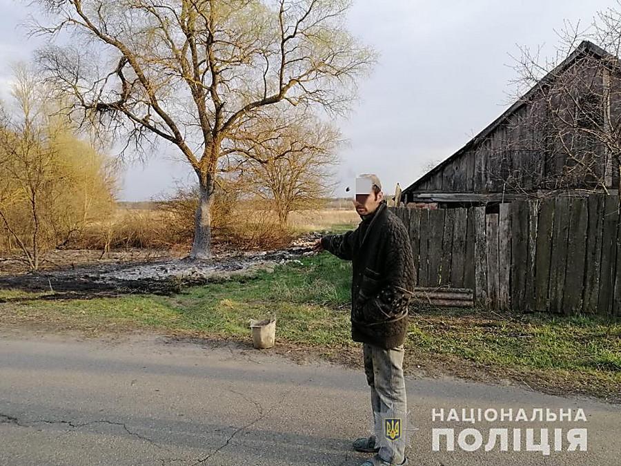 Кабинет Президента: Запах дыма вКиеве связан спожарами вЖитомирской области