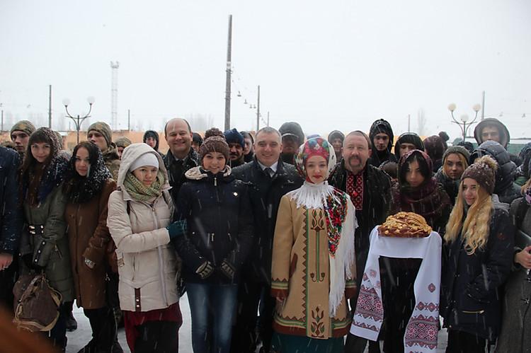 ВОдессу прибыл «поезд единения Украины»