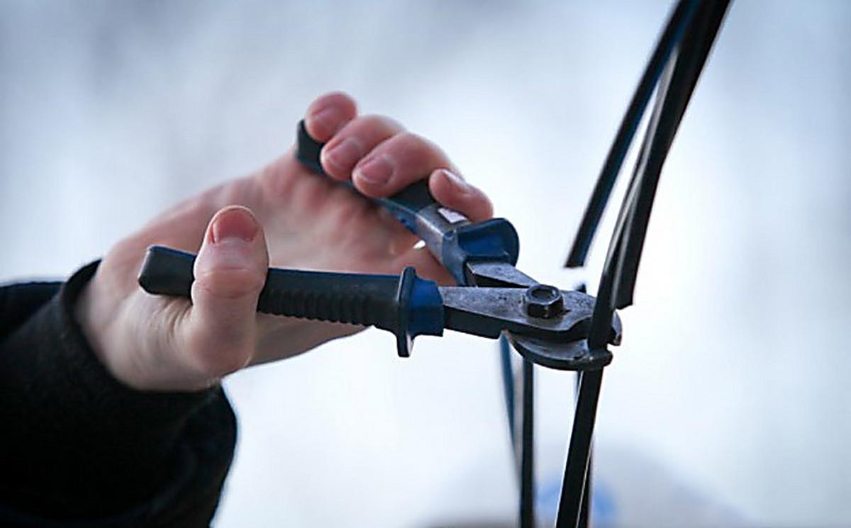 В Ровеньках полиция раскрыла кражу кабеля