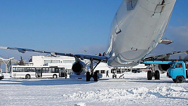 Всвязи снепогодой вгосударстве Украина задерживаются несколько внутренних рейсов «Борисполя»