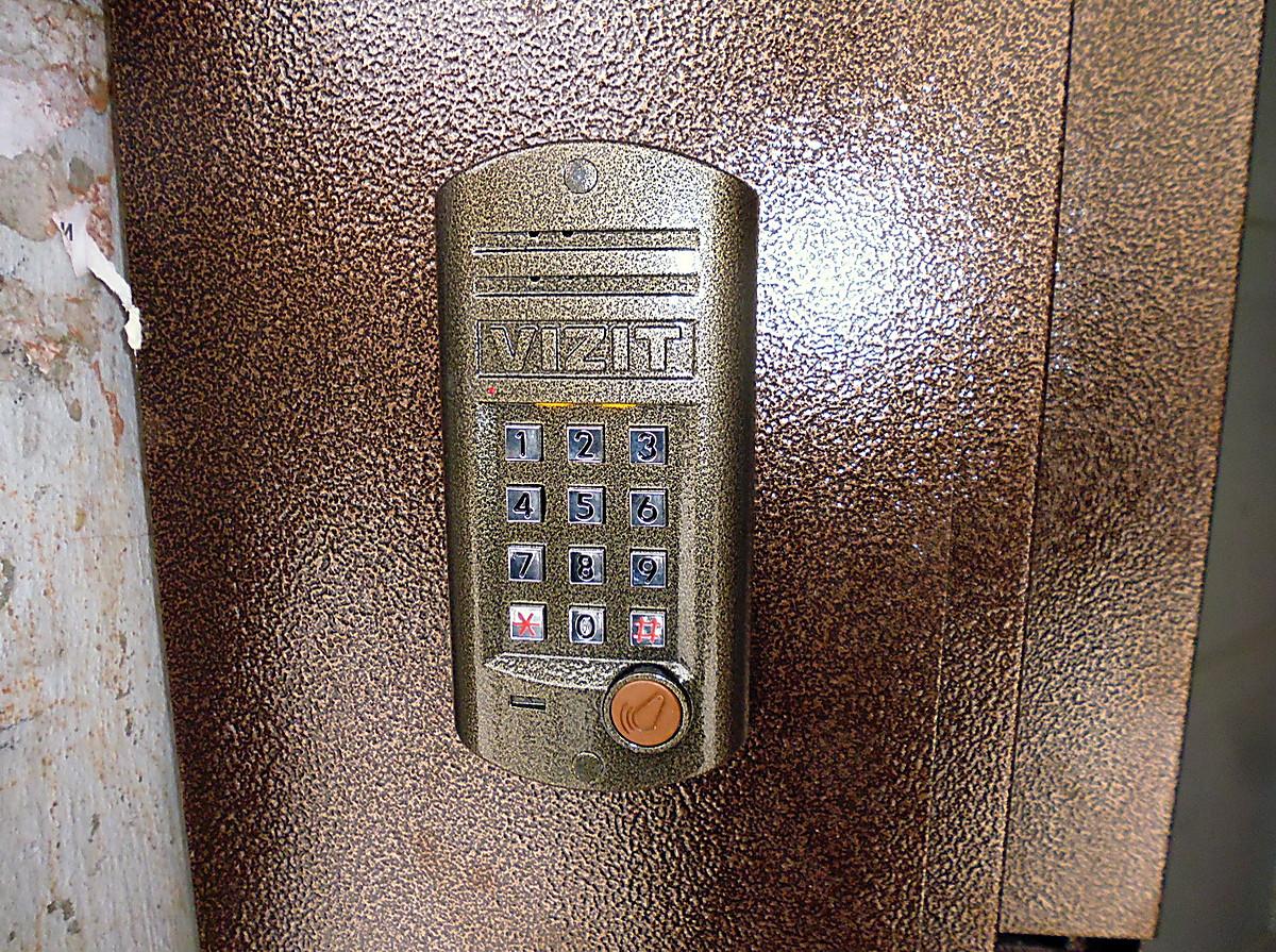 домофон в железную дверь цена