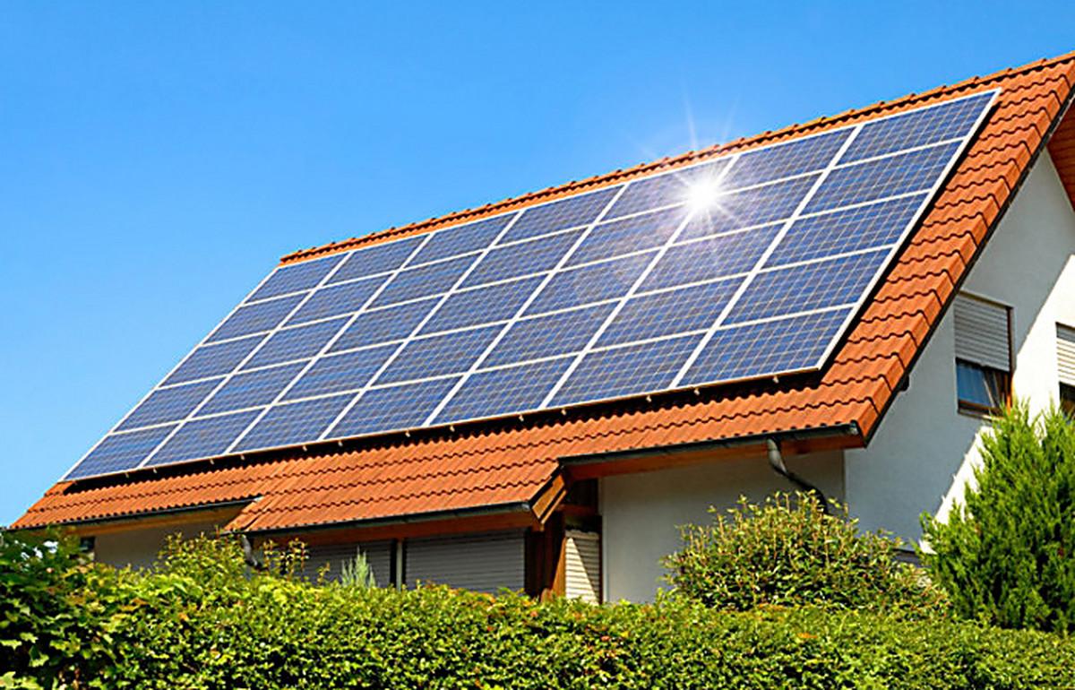 Солнечные батарей для дома