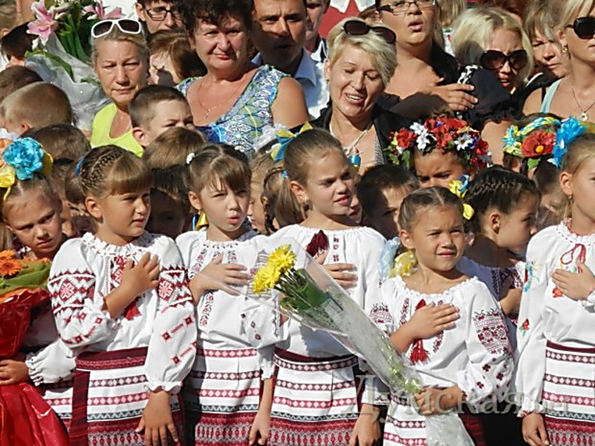 Новый учебный год в украине