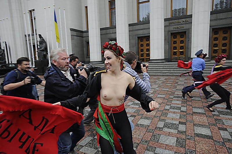 протест на майдане порно актрисы - 3