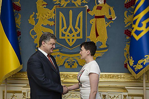 Савченко призвала Владимира Путина «отцепиться отУкраины»