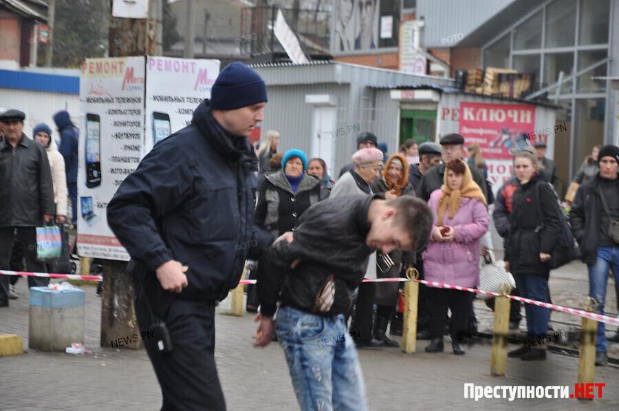 Оперативник отобрал у правонарушителя гранату свыдернутой чекой