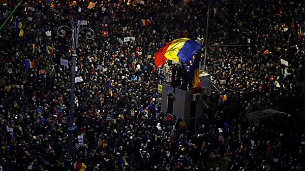 ВРумынии протестующие не ждали отпремьера такого заявления