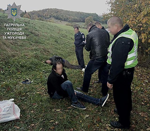 ВЗакарпатской обл. милиция применила оружие для остановки беглецов наавтомобиле