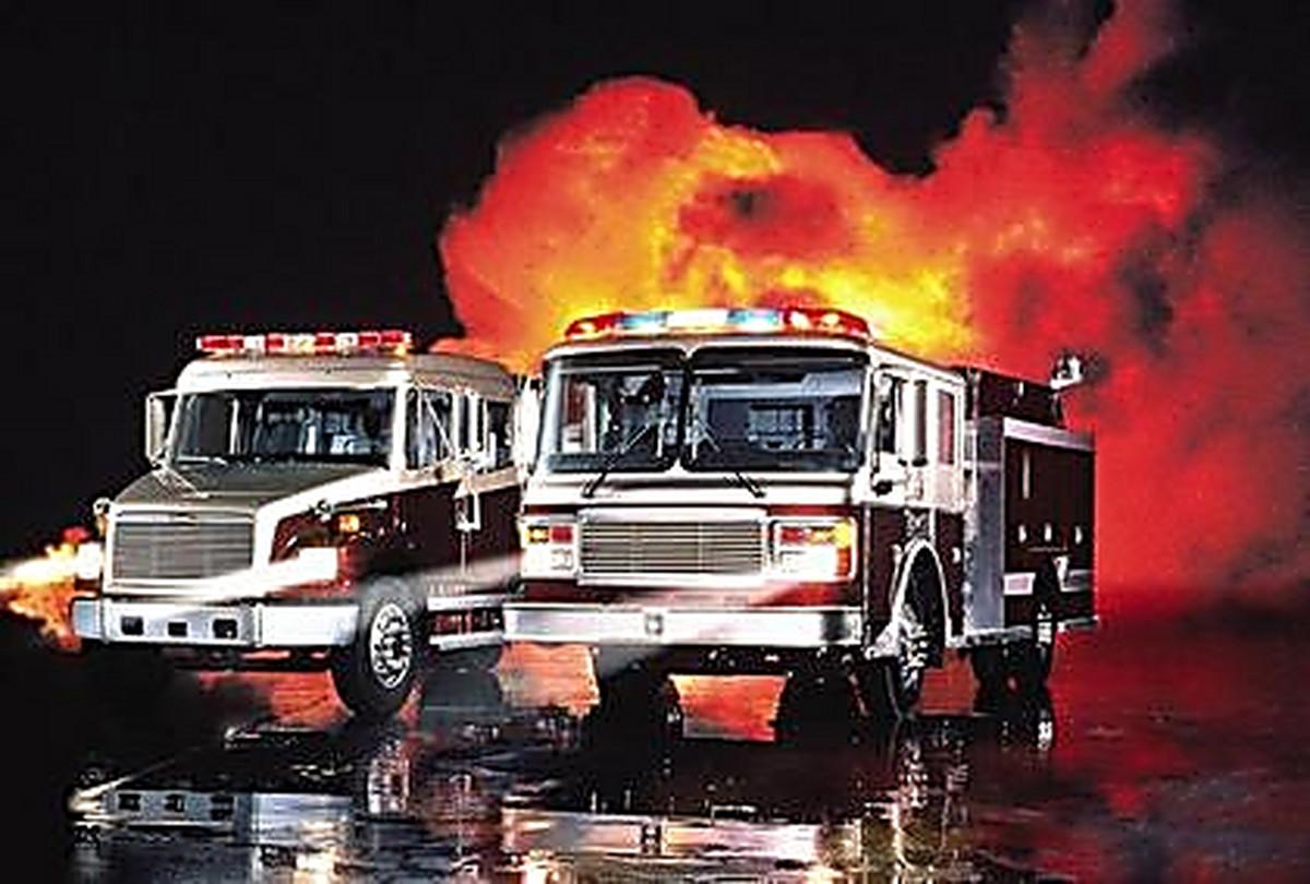 смотреть фото пожарная машина #10