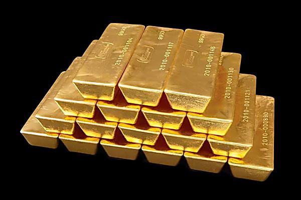 Как сделать золотой слиток
