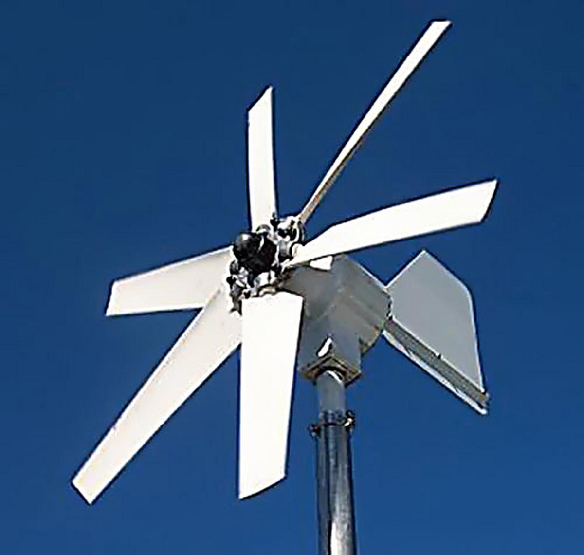 Как сделать ветровую электростанцию