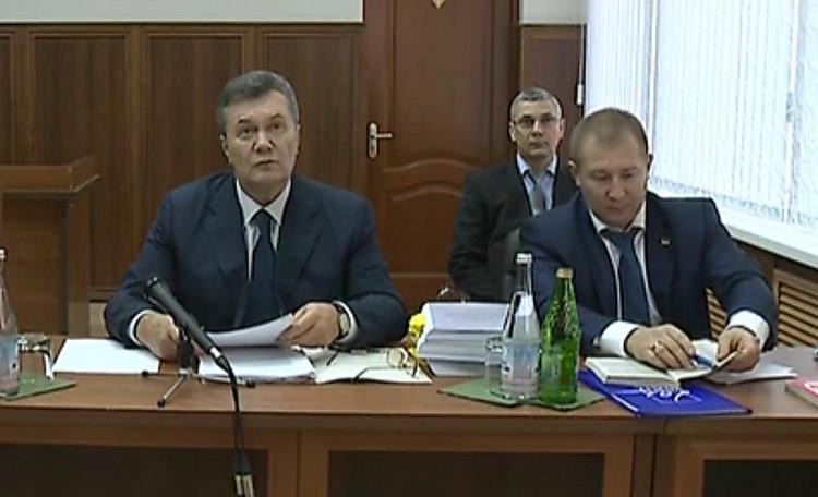 Янукович дает неправдивые свидетельские показания,— генпрокуратура