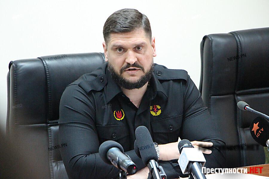 Ярош вНиколаеве пообещал «рубить головы» здешним сепаратистам
